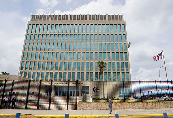 Mal mystérieux à l'ambassade des États-Unis