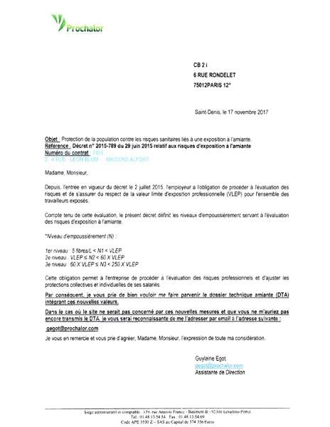 Prochalor : Une lettre destinée au syndic envoyée par erreur à un copropriétaire